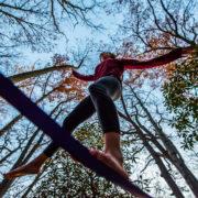 Slack Line, Balancing tree