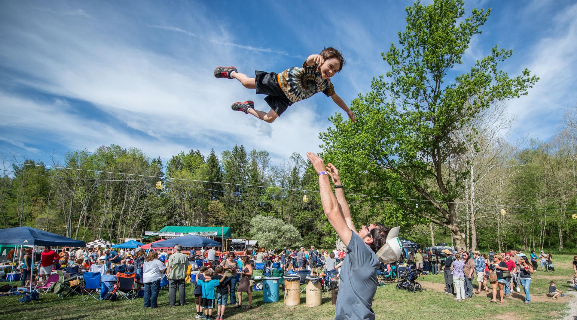 Albright, Cheat Fest, Cheat River Festival, Events, Music, Places, West Virginia
