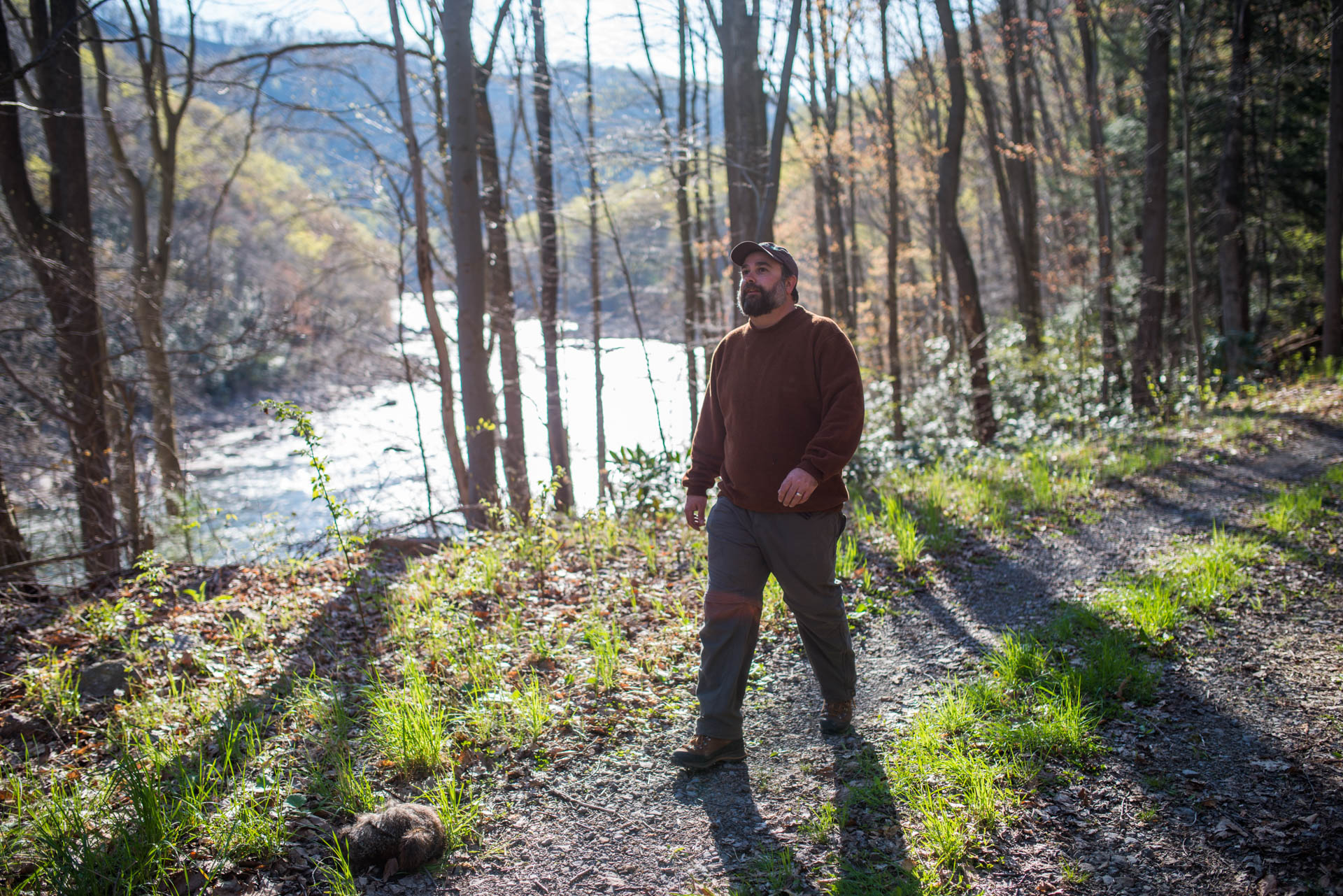 Allegheny Trail, Cheat River, Friends of the Cheat, Gabe DeWitt, TNC, The Nature Conservancy, The Nature Conservancy Magazine, West Virginia, photo by Gabe DeWitt, spring