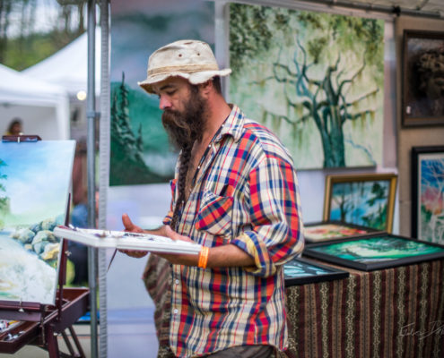 Tim Beard, Artist, Cheat River Festival
