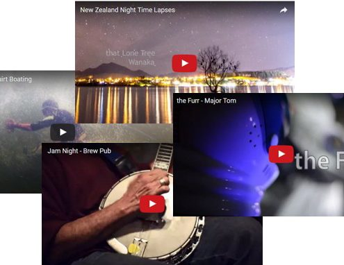 Video Shorts, Gabe DeWitt, Alaska, Northern Lights Video, Squirt Boating, Music,