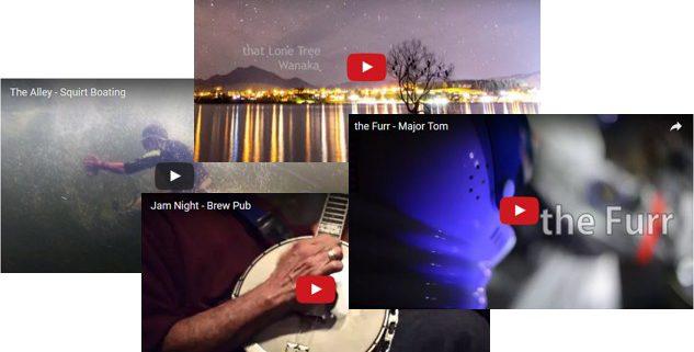 Video Shorts, Gabe DeWitt, Alaska, Northern Lights Video, Squirt Boating, Music,