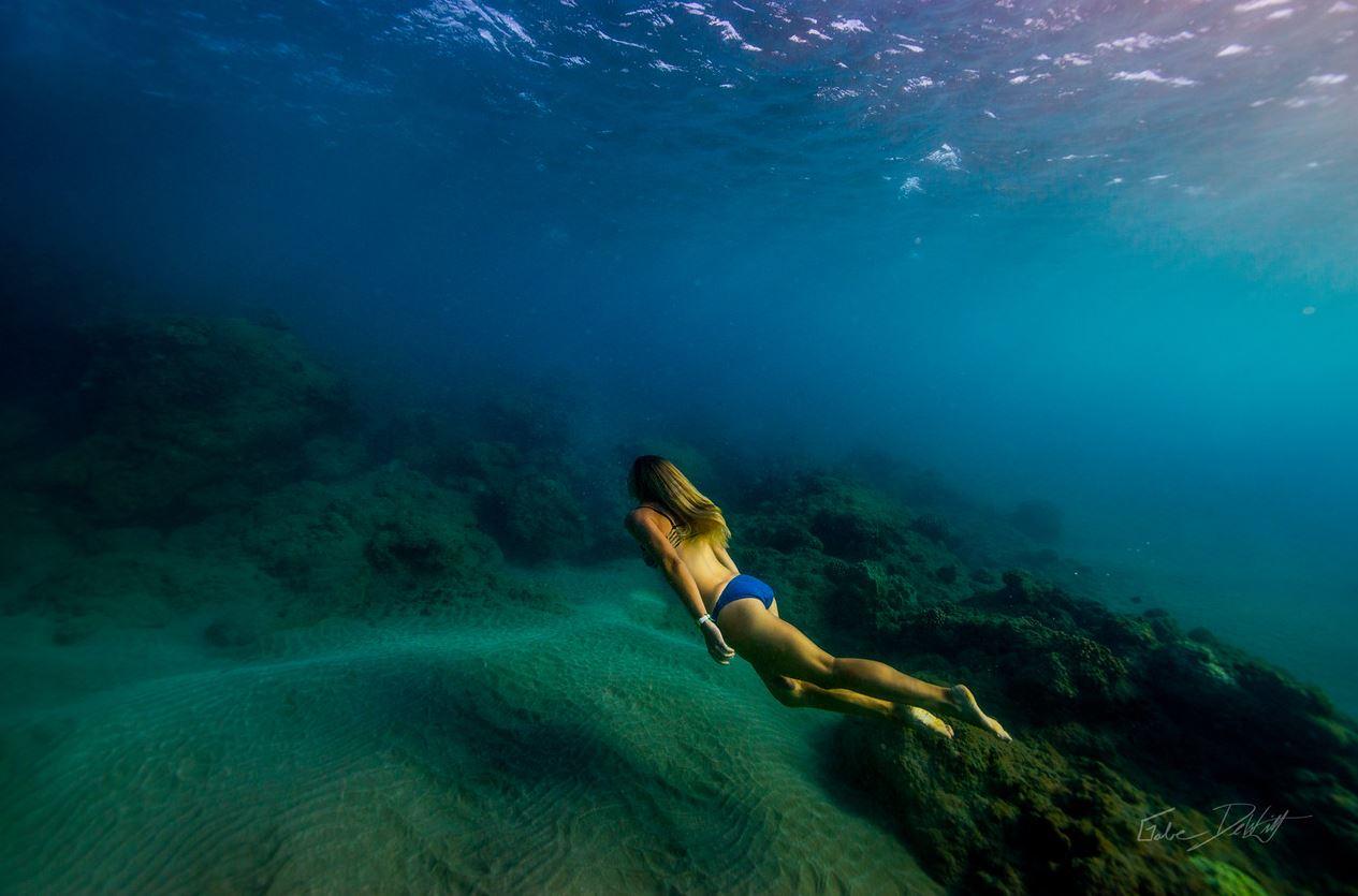 Green Sand, Underwater