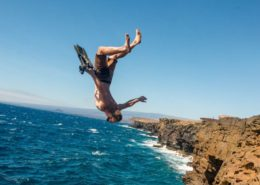 South Point, Hawaii, Cliff Jumping,